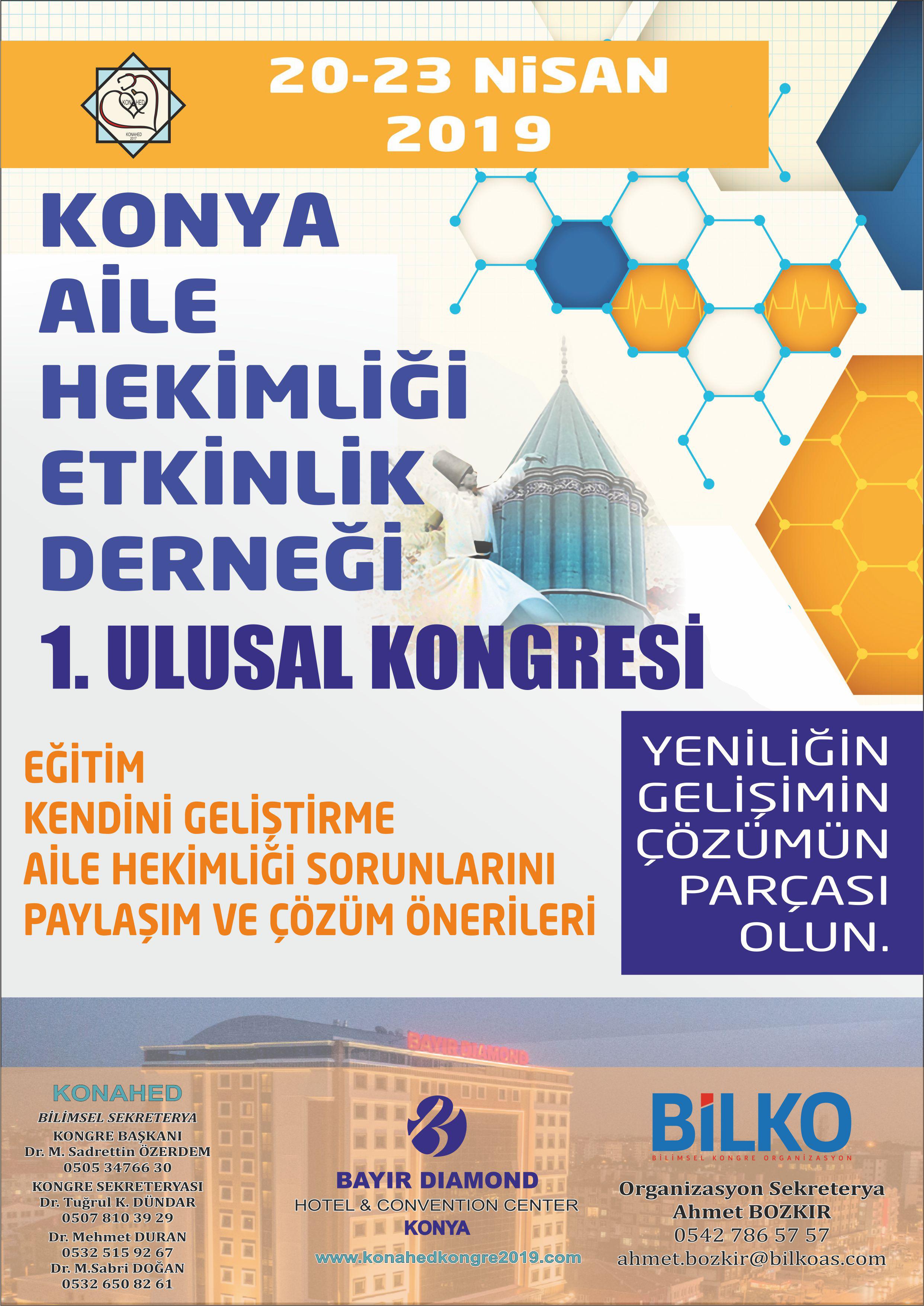 Konya Aile Hekimliği 1. Ulusal Kongresi