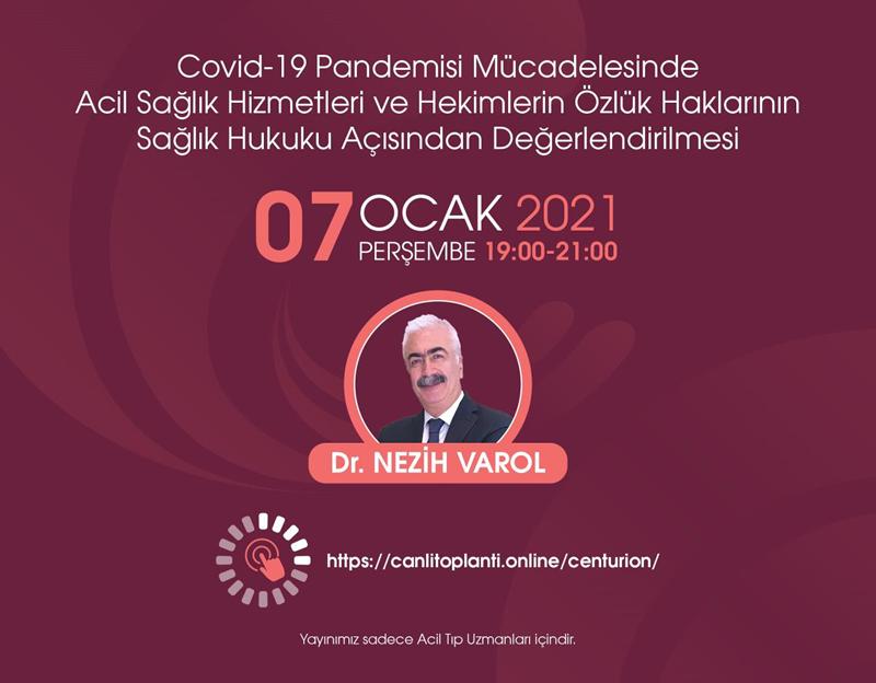 Covid-19 Pandemisi Mücadelesinde Acil Sağlık Hizmetleri ve Hekimlerin Özlük Hakları